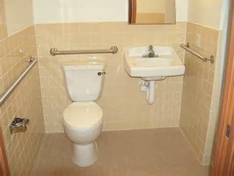 Floor Plans For A Public Handicap Bathroom Yahoo Image Search Results