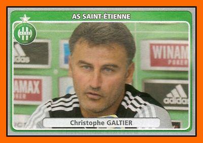 Old School Panini: Le bal des entraîneurs 2012-13 : Christophe GALTIER