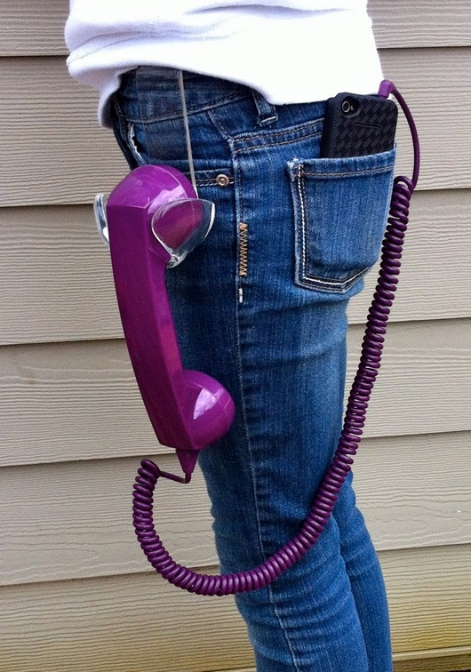 The Ultimate Hipster Retro iPhone Headset