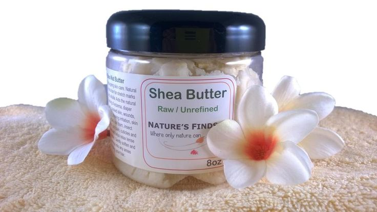 Shea Butter. Perfect Natural Organic Skin Care for all skin types by Nature's Finds. Fades wrinkles, cellulite and stretch marks. Sold Worldwide.