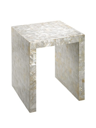 Superb A Mother Of Pearl Side Table