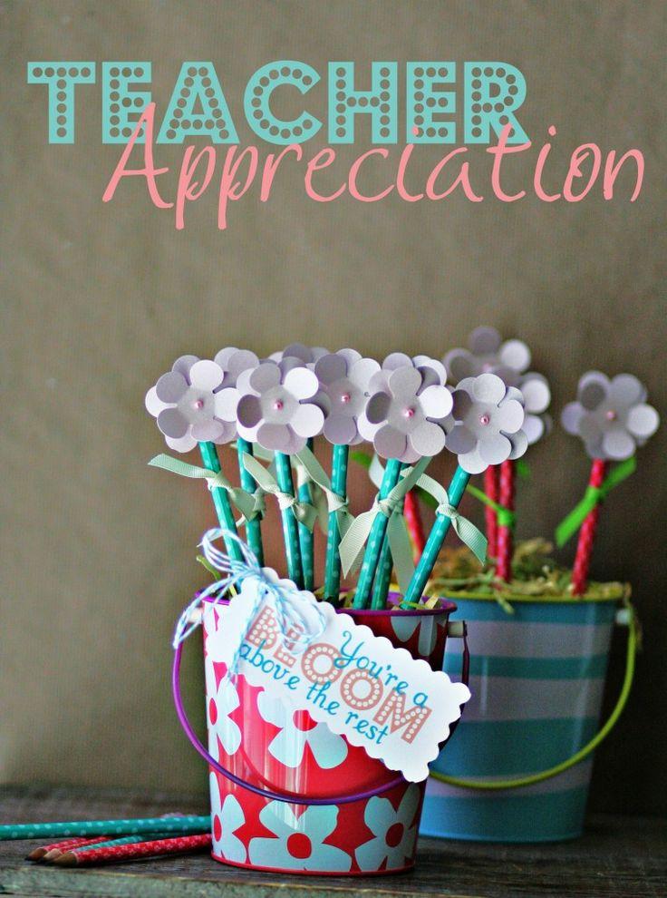 Teacher Appreciation ~ DIY Pencil Flower Bouquet