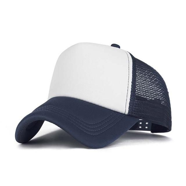 SFMF Women Men Mesh Ball Cap Adjustable Snapback Dad Hat