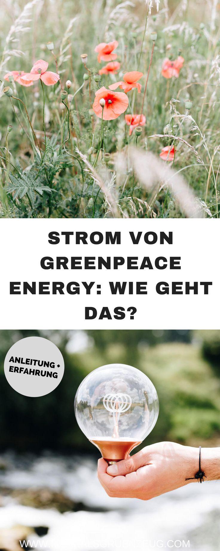 Nachhaltiger und grüner Strom von Greenpeace Energy - wie funktioniert das? Wie geht grüner Strom - und ist der Umstieg kompliziert? Ist das teurer? Unsere Erfahrungen nach zwei Jahren Greenpeace Energy.