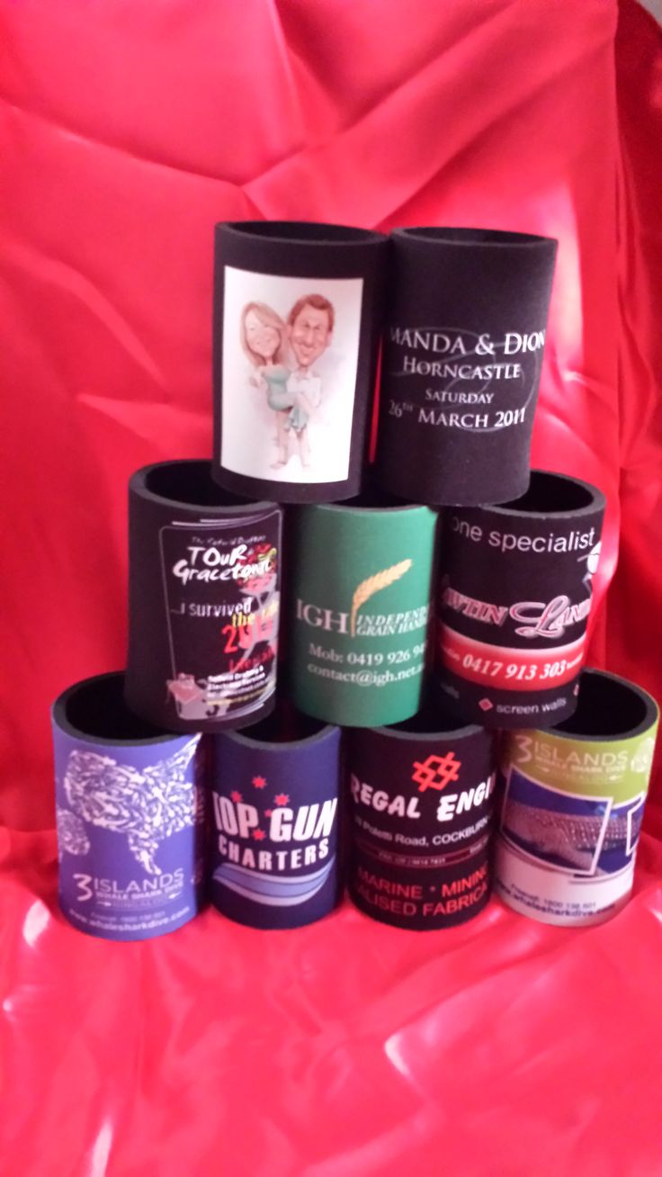 Assorted stubby holders