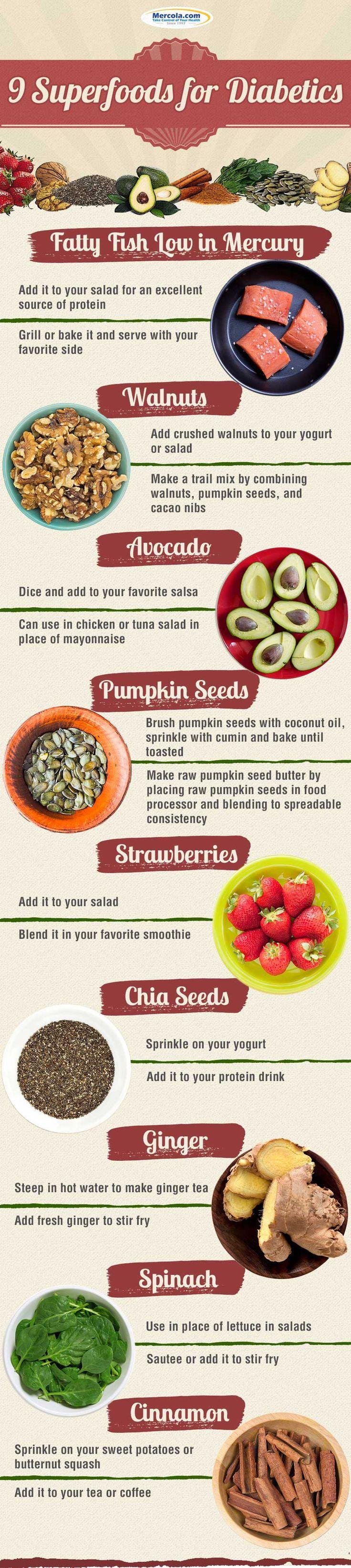 9 Superfoods for Diabetics