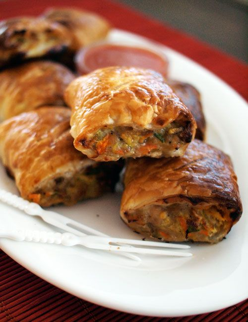 healthy-sausage-rolls | Recipes | Pinterest