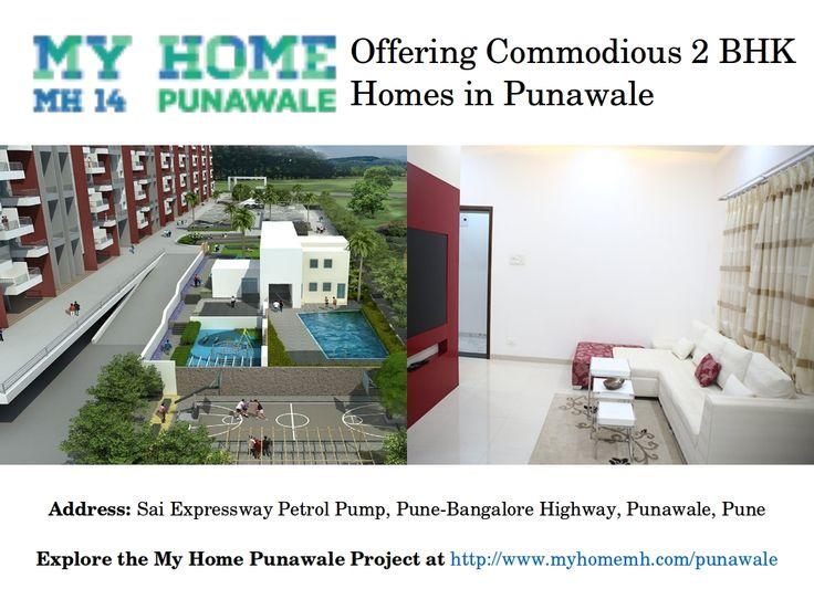 2 Bhk Residential Apartments at My Home Punawale near Hinjewadi and Wakad Pune