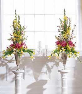 church altar flowers, a bit more streamlined
