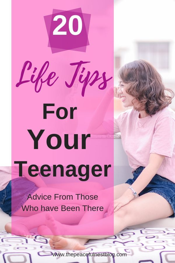 Advice is your teen using