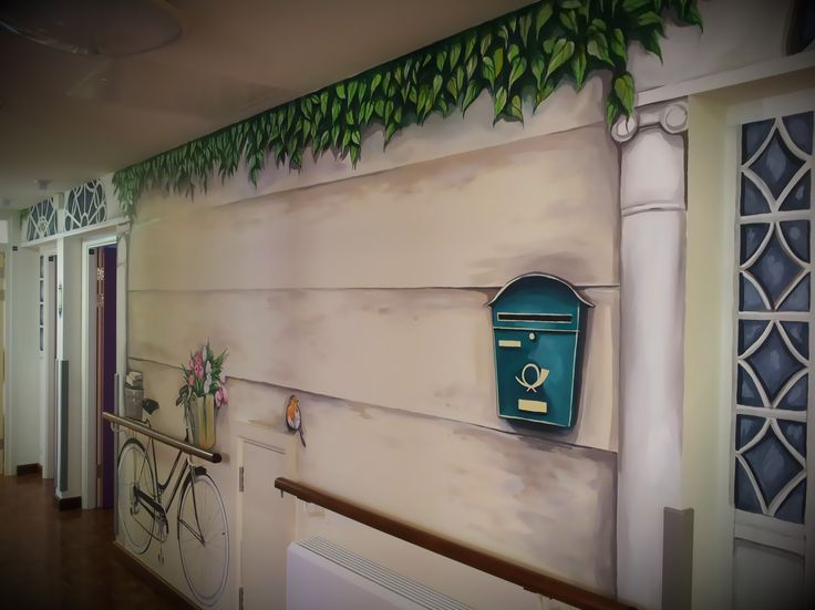 17 Best Images About Mural In Nursing Home On Pinterest