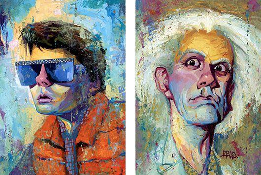 Pop Culture Portraits by Rich Pellegrino