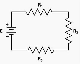 Simple electrical circuit  Simple single line diagram