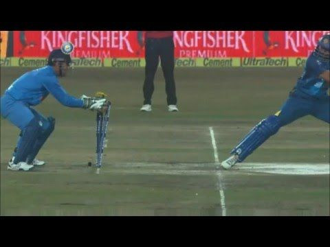 Top 10 Fastest Stumpings In Cricket By MS Dhoni - TOP 10 Of India