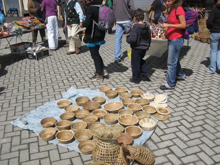 Mercado Dalcahue en Chiloe