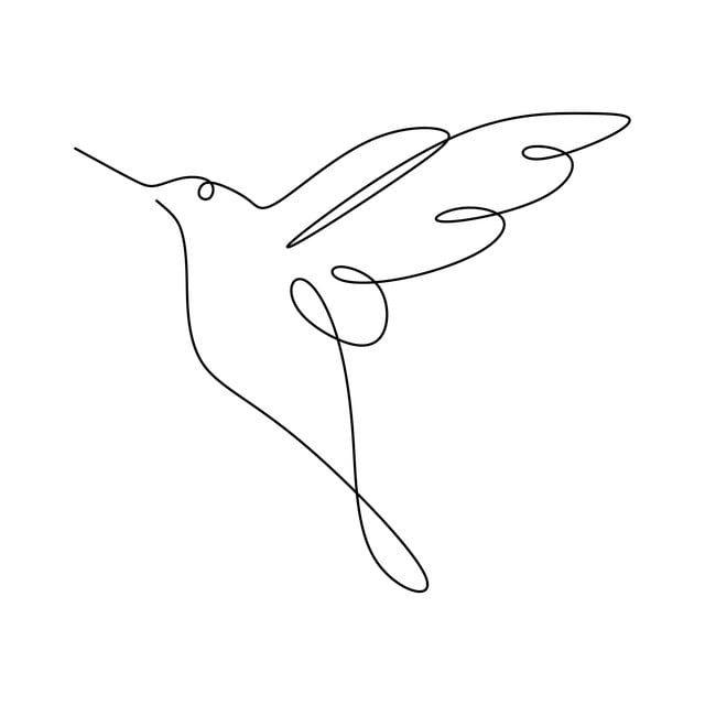 Um Desenho De Linha Do Minimalismo Beija Flor Desenho Ilustracao Vetorial Beija Flor Ave Ilustracao Imagem Png E Vetor Para Download Gratuito Bird Outline Tattoo Simple Line Drawings Line Art Drawings