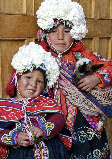 guys, why can't i have a floral headdress and a goat?