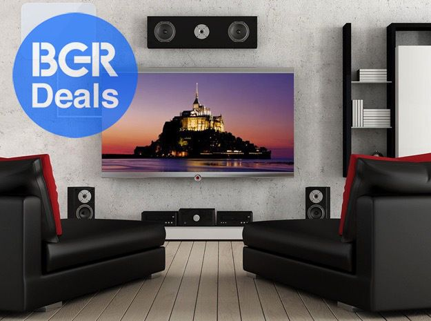 Rear projection home theatre