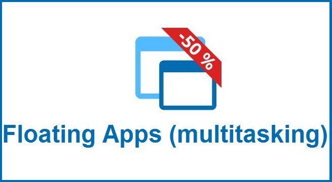 Floating Apps (multitasking) es una excelente herramienta con la cual tendremos la posibilidad de abrir al mismo tiempo varias ventanas o aplicaciones y gestionar de manera mas eficiente la multitarea, recomendado para personas con dispositivos de gama baja que necesitan un mejor manejo de la multitarea, juega, ve vídeos de youtube, usa tus redes sociales favoritas, todo lo podrás hacer al mismo tiempo con esta maravillosa App.