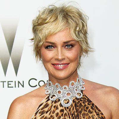 Sharon Stone - 2008 - Sharon Stone - Transformation - Hair - InStyle