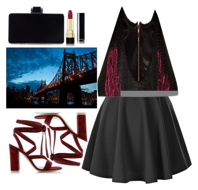 """""""Untitled #170"""" by chicclo on Polyvore featuring Dolce&Gabbana, Gianvito Rossi, Ted Baker and Chanel"""