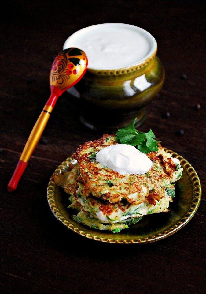 Оладьи из молодых кабачков с брынзой » Рецепты » Кулинарный журнал Насти…