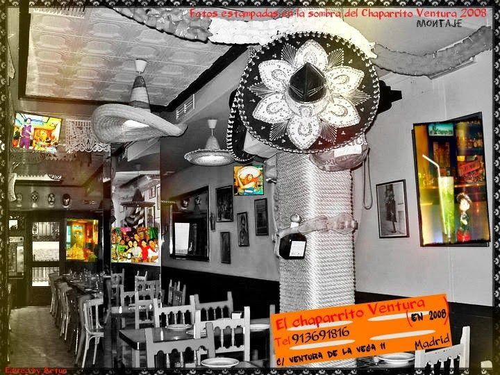 Restaurante Mèxicano en Madrid:El Chaparrito Ventura.: El restaurante mexicano El chaparrito Ventura en 2...