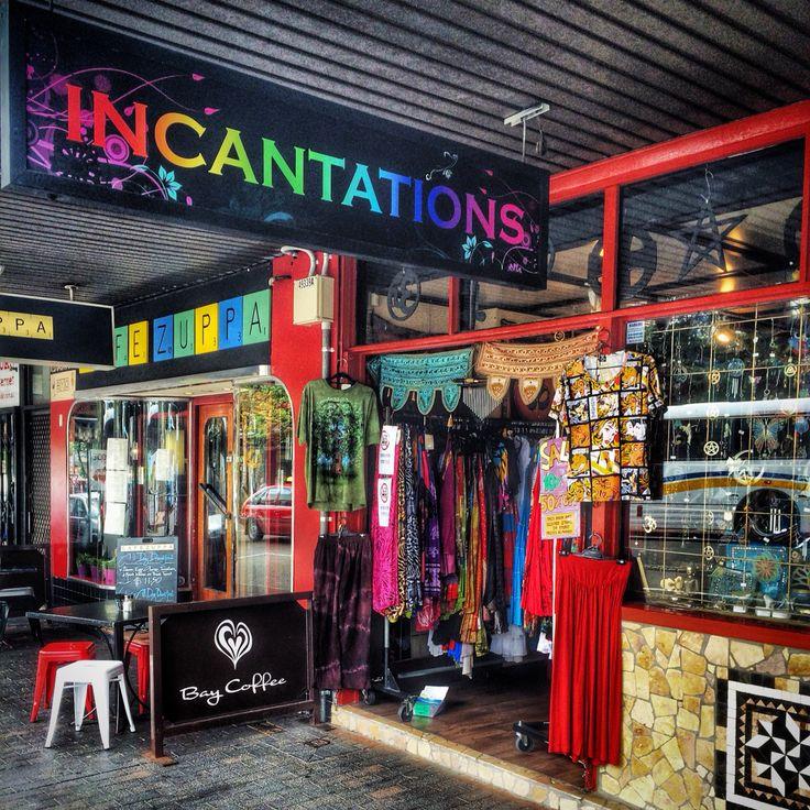 Colorful shops...
