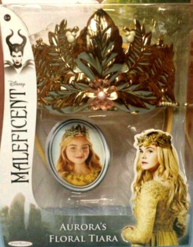 Disney Maleficent Aurora's Gold Tiara/Crown Dress Up/Role Play BNIB~ HTF~  #Disney #Dress Up. Sold in My Store!!