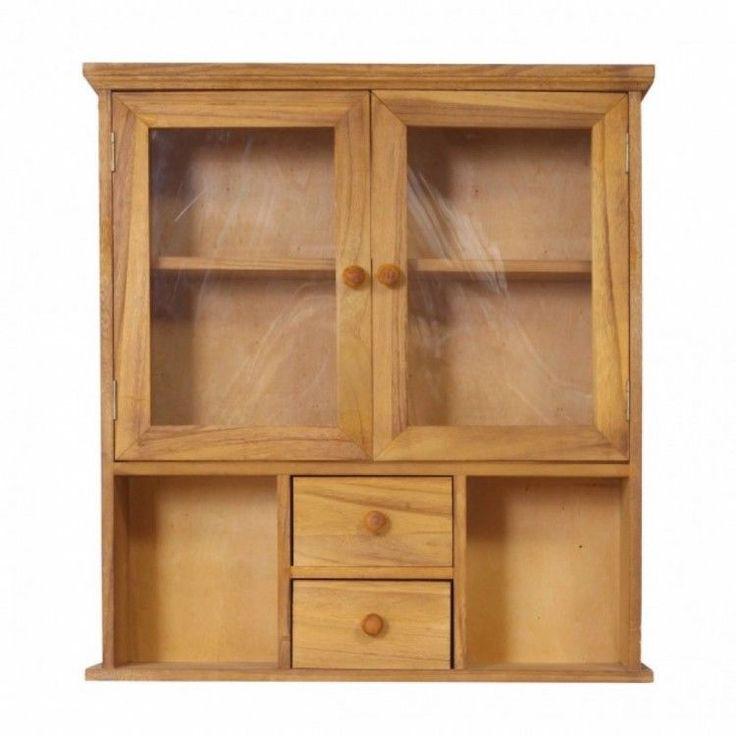 Modern Home Shelving Unit Display Storage Furniture Brown Cabinet Showcase Wood #ModernHomeShelvingUnit #Modern