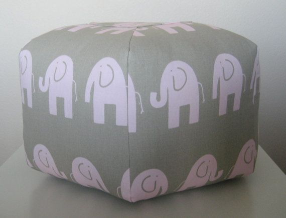 17 Best images about For Mad s Big Girl Room on Pinterest Elephant print, Quad and Poufs