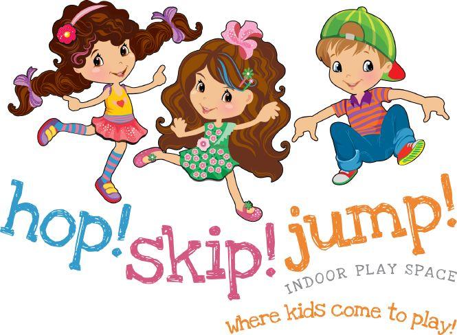 Hop! Skip! Jump! Playground Logo Design by New Design Group.