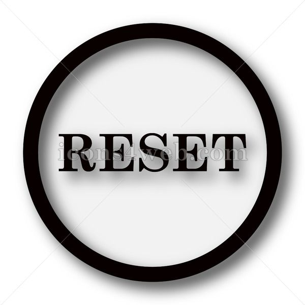 Reset Simple Icon Reset Simple Button Simple Icon Icon Simple