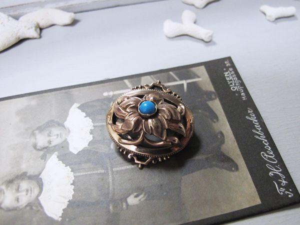 ヴィクトリアン 時計用ブローチ  - maison irisee