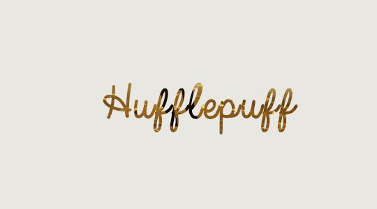 Scripts Series - Hogwarts Houses