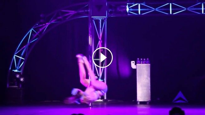 Kristy Sellars - İnanılmaz Direk Dansı - Miss Pole Dance Victoria 2012 2013 - Winner Kristy Sellars