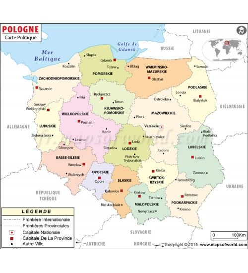 7 best french language maps images on pinterest french french buy poland map in french language gumiabroncs Choice Image