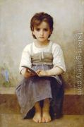 La leçon difficile (The difficult lesson) by William-Adolphe Bouguereau