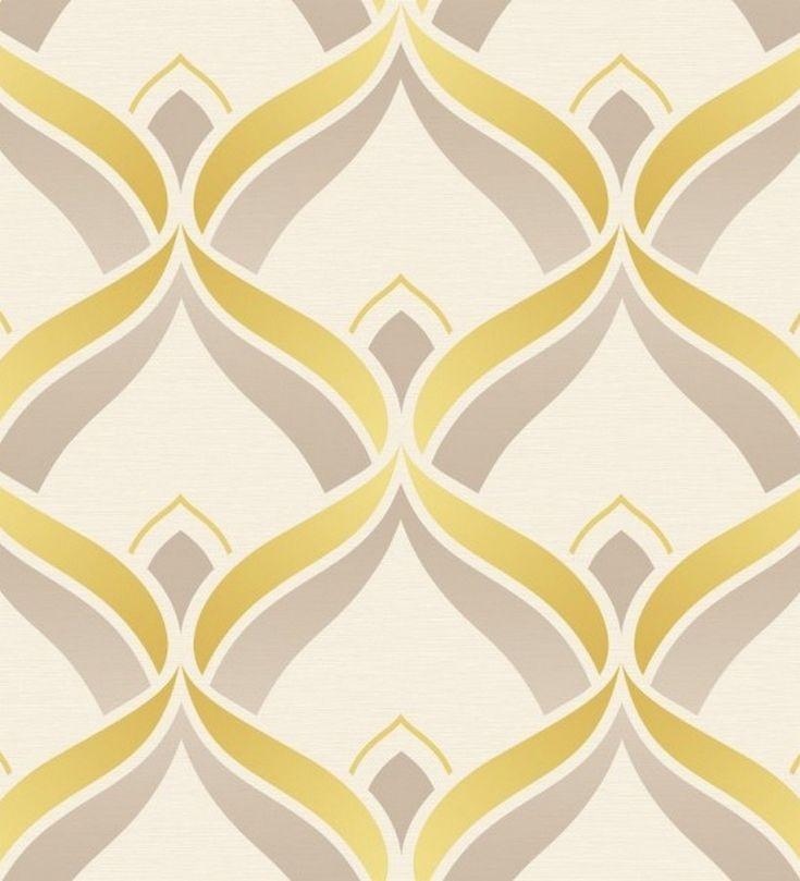 Papel pintado ornamental retro diseño árabe Murnau 117410