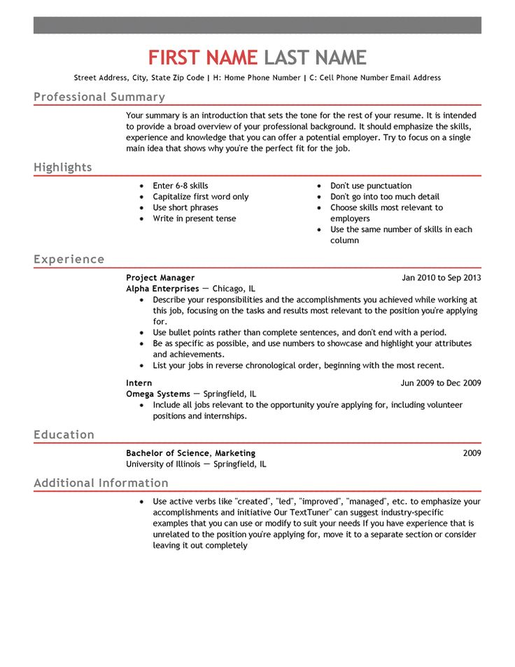 Browse through 20+ Free professionally designed Resume Templates to create a winning job application for the position you want.