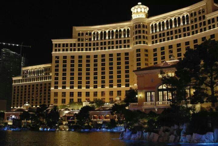 USA, Il nostro covo al Bellagio a Las Vegas