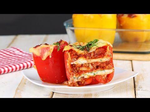 Als een standaard gevulde paprika een beetje te saai is, word je van dit alternatief vast enthousiast. Bekijk de doorsnede maar eens!