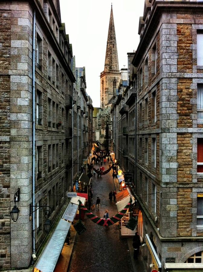 Saint-Malo, Brittany, France. I spent many years of vacation with my parents there.  Love this place !