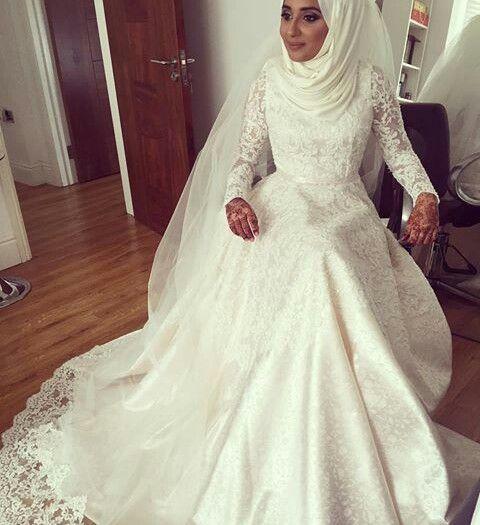 ... Dresses on Pinterest  Hijab Bride, Bridal Hijab and Wedding Hijab
