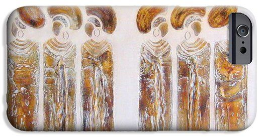 Antique Copper Zulu Ladies iPhone 6 Case by Tracey Armstrong