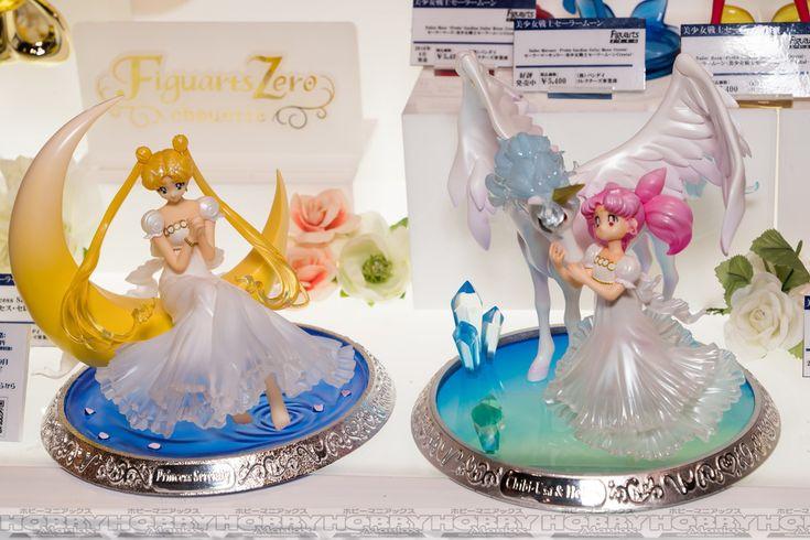"""sailor moon"" ""sailor moon figure"" ""sailor moon merchandise"" ""sailor moon toys"" ""figuarts zero"" pegasus chibiusa princess bandai ""tokyo toy show 2016"" helios japan"