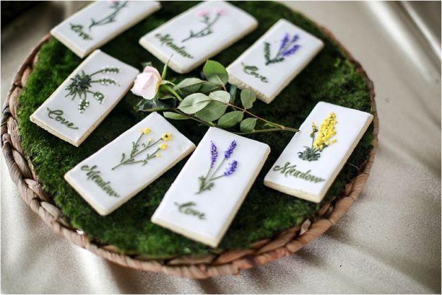 Wild flowers cookies