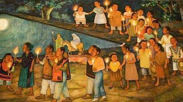 """La """"Navidad"""" de Huitzilopochtli y el origen de las posadas -  ¿Alguna vez te preguntaste porque los nativos americanos aceptaron con tanta facilidad la celebración de la Navidad? Bueno, sucede que la invasión de nuestro continente no fue solo con armas, sino también religiosa, pues de nada valía una sociedad forzada pero con ánimos de sublevación. Por eso, la mejor solución fue sincretizar las creencias nativas con las católicas, para así lograr que con el tiempo los nativos adoptaran las…"""