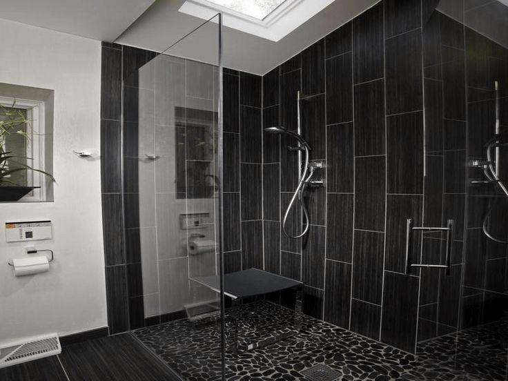Gallery For Website Black Bathroom Tile Designs on a Budget