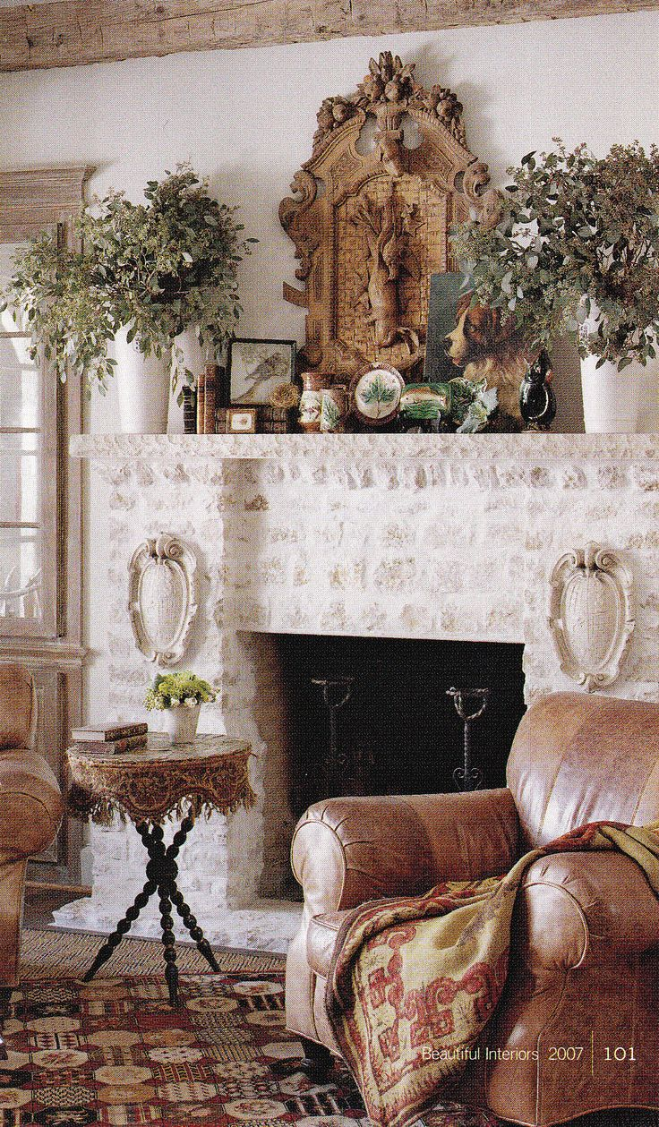 Interior Designer Lisa Luby Ryans Dallas English Style Cottage Published Beautiful Interiors 2007